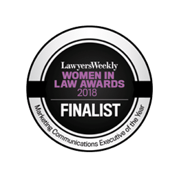 Awards – Lawyers Weekly Women In Law Awards 2018